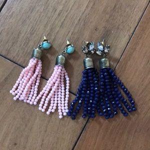 Jewelry - Set of Tassel Earrings